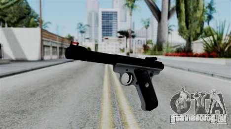 No More Room in Hell - Ruger Mark III для GTA San Andreas
