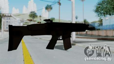 SCAR-L для GTA San Andreas третий скриншот