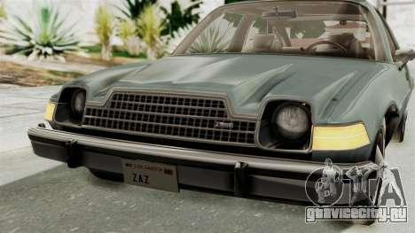 AMC Pacer 1978 IVF для GTA San Andreas вид сверху