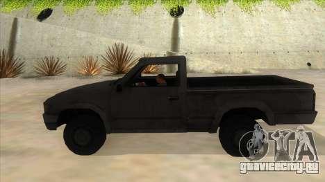 Toyota Hilux Militia для GTA San Andreas вид слева