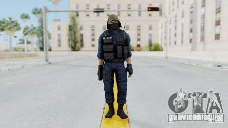 GIGN 2 Masked from CSO2 для GTA San Andreas второй скриншот