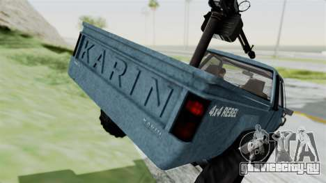 GTA 5 Karin Technical Machinegun IVF для GTA San Andreas вид сверху
