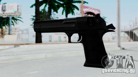 Pouxs Desert Eagle v2 Black для GTA San Andreas второй скриншот
