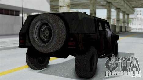HMLTV-998 BULDOG from Crysis 2 для GTA San Andreas вид слева
