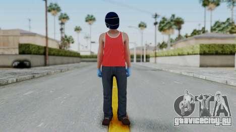 Biker from Hotline Miami для GTA San Andreas второй скриншот