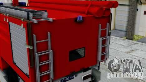 FAP Serbian Fire Truck для GTA San Andreas вид справа