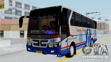 Laksana Legacy Hino AK8 Sugeng Livery для GTA San Andreas