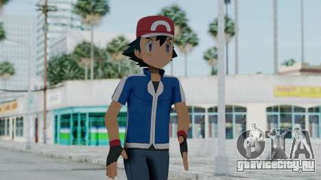 Pokémon XY Series - Ash для GTA San Andreas