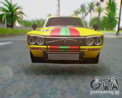 Nissan 2000GT-R [C10] Tunable для GTA San Andreas салон