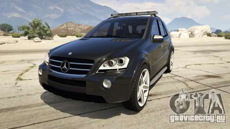 2009 Mercedes-Benz ML63 AMG FBI для GTA 5