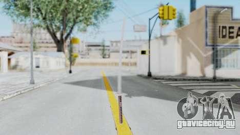 Samurai Sword для GTA San Andreas второй скриншот