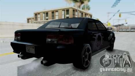 Sultan Винил Battle Machine из NFS ProStreet для GTA San Andreas вид сзади слева