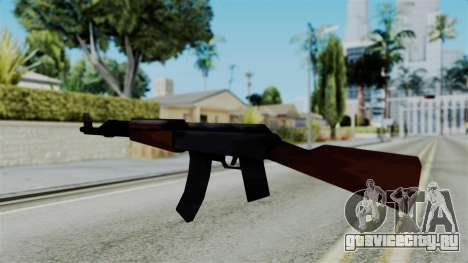 GTA 3 AK-47 для GTA San Andreas второй скриншот