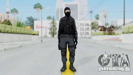 GTA 5 S.W.A.T. Police для GTA San Andreas второй скриншот