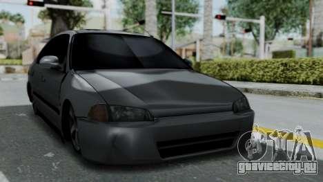 Honda Civic 1992 Sedan для GTA San Andreas