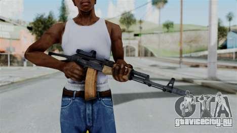 Arma2 AKS-74 Cobra для GTA San Andreas третий скриншот