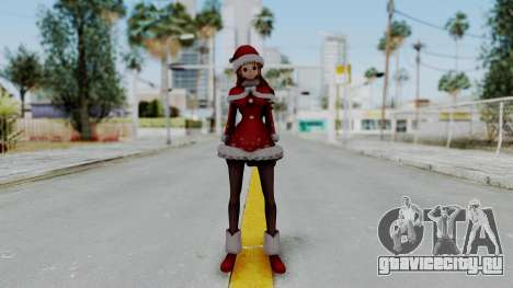 One Piece Pirate Warriors - Nami Christmas DLC для GTA San Andreas второй скриншот