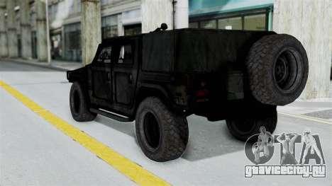 HMLTV-998 BULDOG from Crysis 2 для GTA San Andreas вид справа
