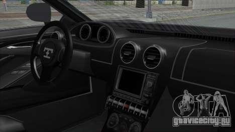 GTA 5 Truffade Adder v2 SA Lights для GTA San Andreas вид сзади