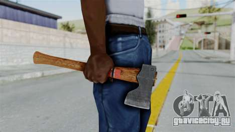 GTA 5 Hatchet - Misterix 4 Weapons для GTA San Andreas третий скриншот