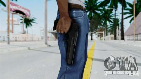 Pouxs Desert Eagle v2 Black для GTA San Andreas третий скриншот