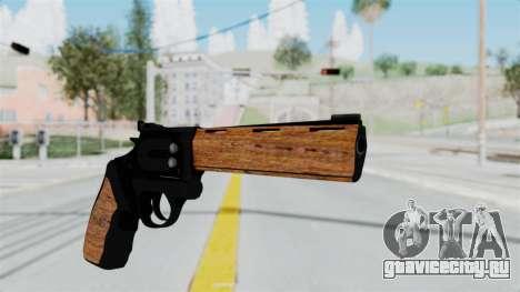 Wood Revolver для GTA San Andreas второй скриншот
