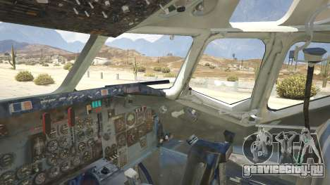 McDonnell Douglas DC-9-15 для GTA 5 пятый скриншот