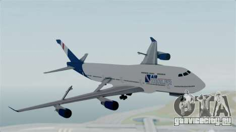GTA 5 Jumbo Jet v1.0 Air Herler для GTA San Andreas вид сзади слева