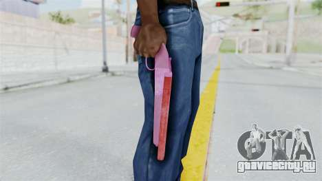 Double Barrel Shotgun Pink Tint (Lowriders CC) для GTA San Andreas