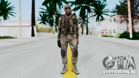 Crysis 2 US Soldier FaceB Bodygroup A для GTA San Andreas второй скриншот