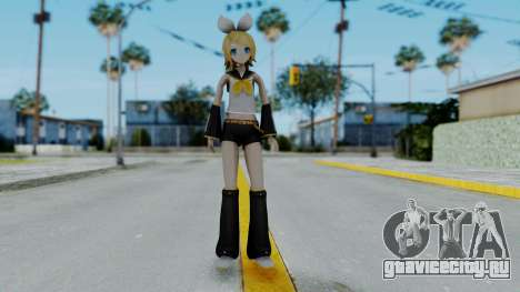 Project Diva F2 - Kagamine Rin (Costume 1) для GTA San Andreas второй скриншот