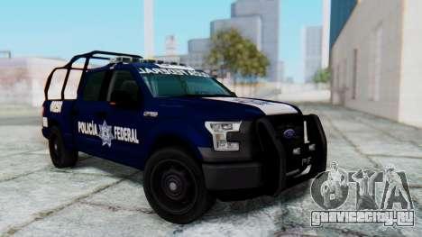 Ford F-150 2015 Policia Federal для GTA San Andreas