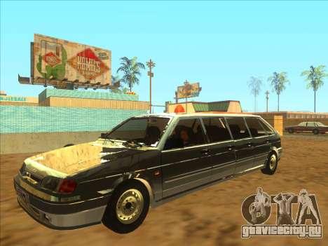 VAZ 2114 9-door для GTA San Andreas