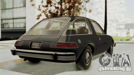 AMC Pacer 1978 для GTA San Andreas вид слева