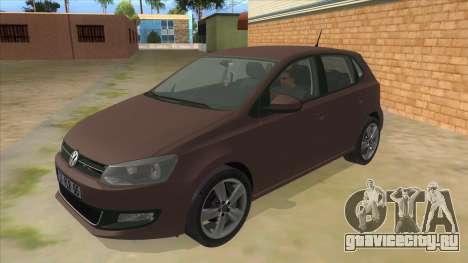 Volkswagen Polo 6R 1.4 для GTA San Andreas
