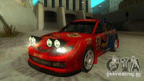 Subaru Impreza WRX STi 2011 Response для GTA San Andreas