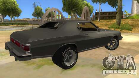 Ford Gran Torino Drag для GTA San Andreas вид справа
