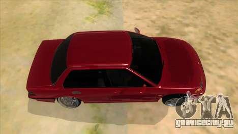 Honda Civic Ef Sedan для GTA San Andreas вид изнутри