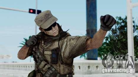 Crysis 2 US Soldier 4 Bodygroup B для GTA San Andreas