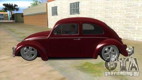 Volkswagen Beetle Aircooled V2 для GTA San Andreas вид слева