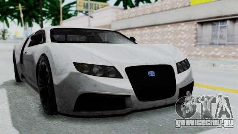 GTA 5 Truffade Adder v2 IVF для GTA San Andreas