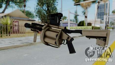 Arma OA Grenade Launcher для GTA San Andreas второй скриншот