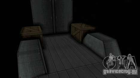 Brute Boxville Laboratorios Humane для GTA San Andreas вид сзади