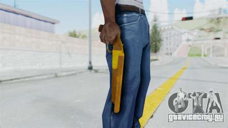 Double Barrel Shotgun Gold Tint (Lowriders CC) для GTA San Andreas третий скриншот