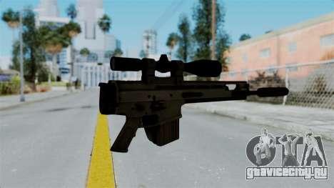 SCAR-20 v1 Folded для GTA San Andreas второй скриншот