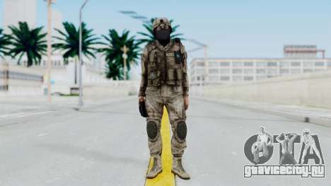Crysis 2 US Soldier 7 Bodygroup A для GTA San Andreas второй скриншот