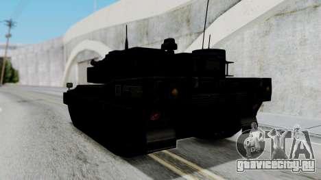 Point Blank Black Panther Woodland для GTA San Andreas вид справа