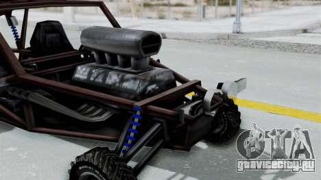 Двухместной Bandito v2 для GTA San Andreas вид справа