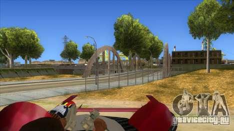 StarWars Anakin Podracer для GTA San Andreas вид изнутри