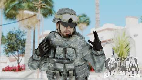 Acu Soldier 1 для GTA San Andreas